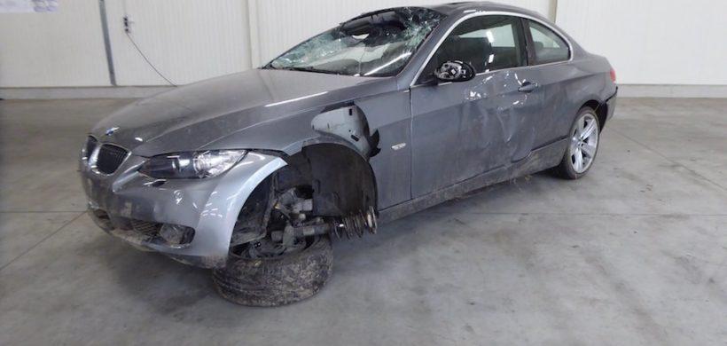 Unfaller: BMW 335i Coupé (E92)