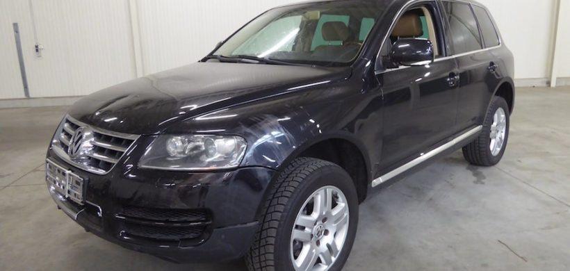 Unfaller: VW Touareg V6 TDI (Typ 7L)