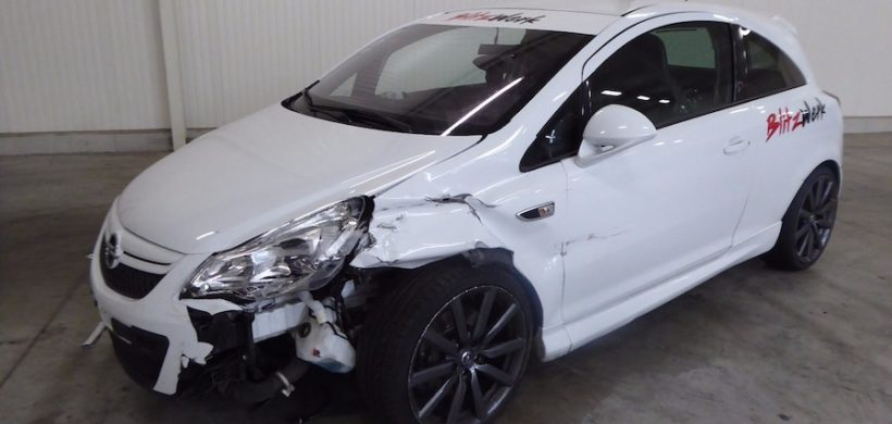 Unfaller: OPEL Corsa D OPC / Nürburgring Edition