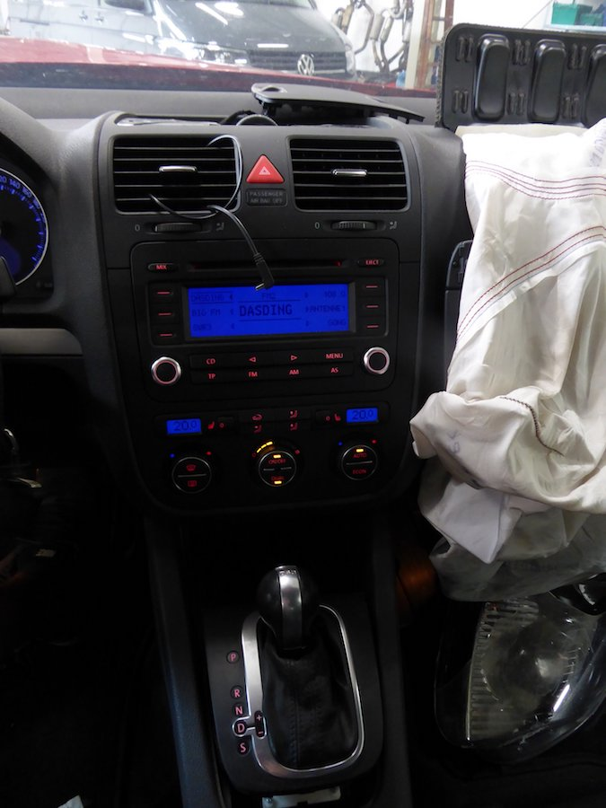Unfaller: VW Golf 5 GTI (Typ 1K)