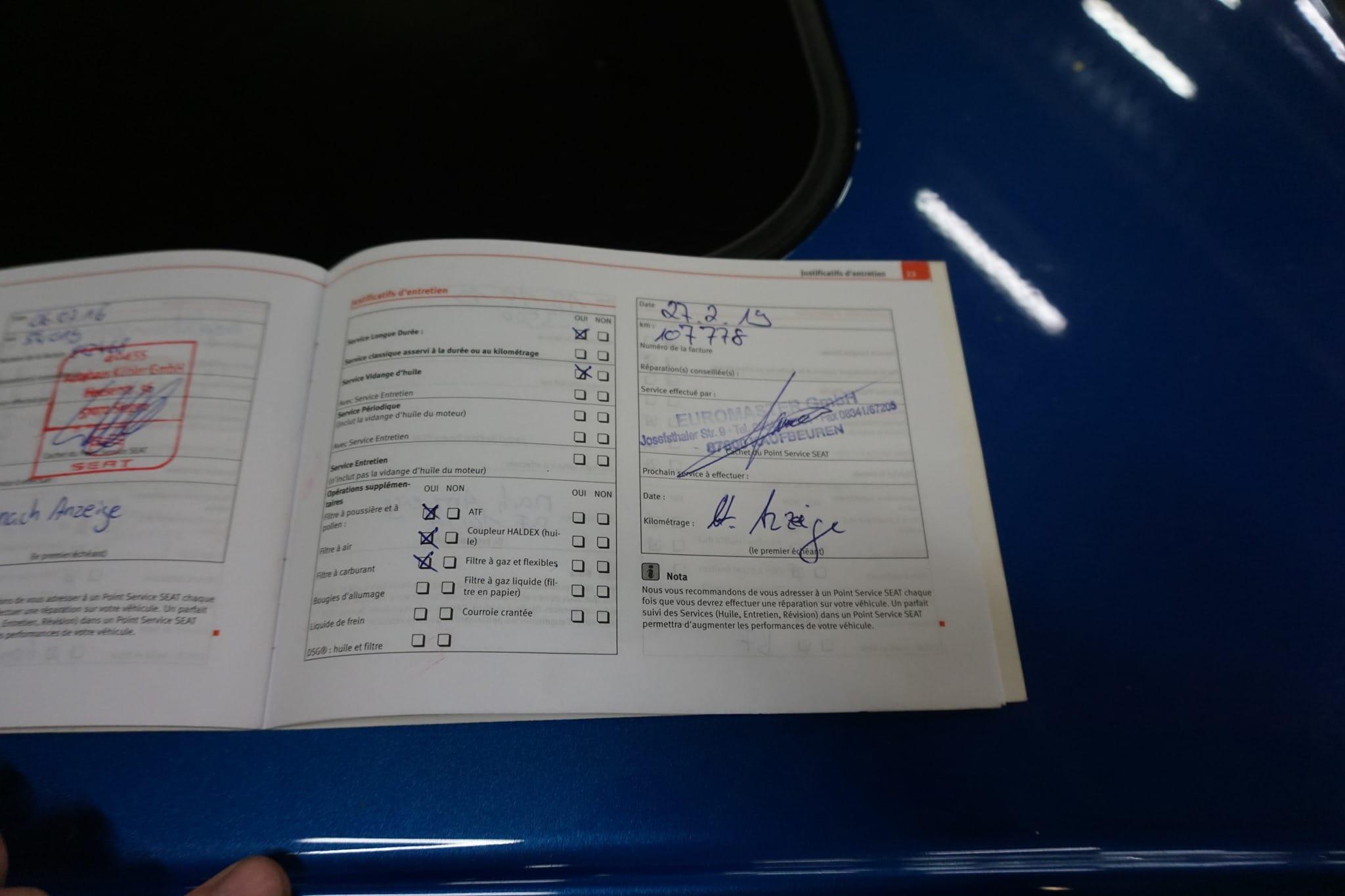 Unfaller: SEAT Leon II Cupra R (Typ 1P)